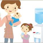 お子さんのために「飲み水」を変えたい・・・。いまウォーターサーバーがママに人気の理由とは